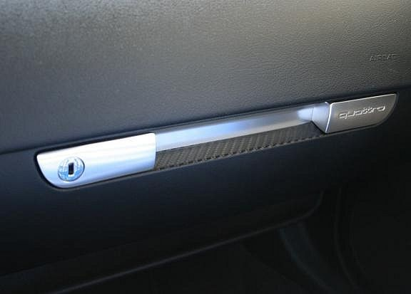 Carbondekor Trim for glove compartment