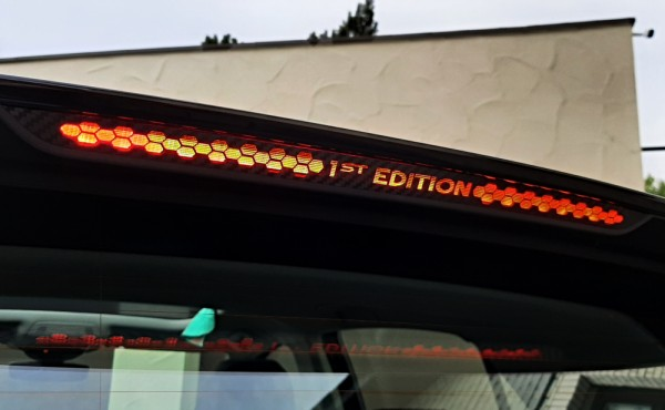 Brake light sticker 1st edition