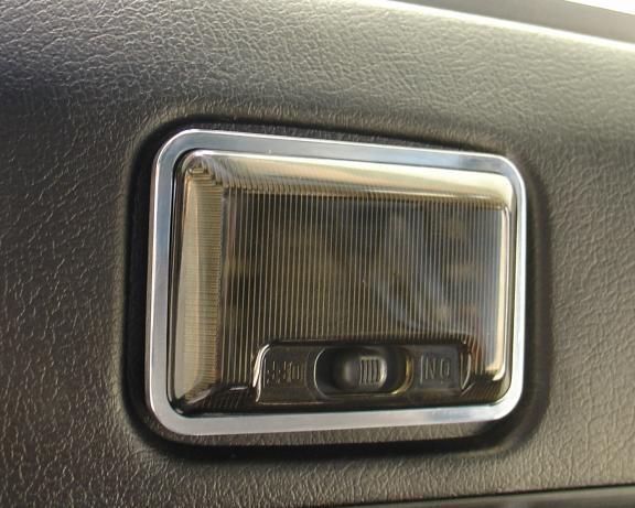 1 decorative frame for interior lighting