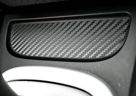 Carbon Cover file center console