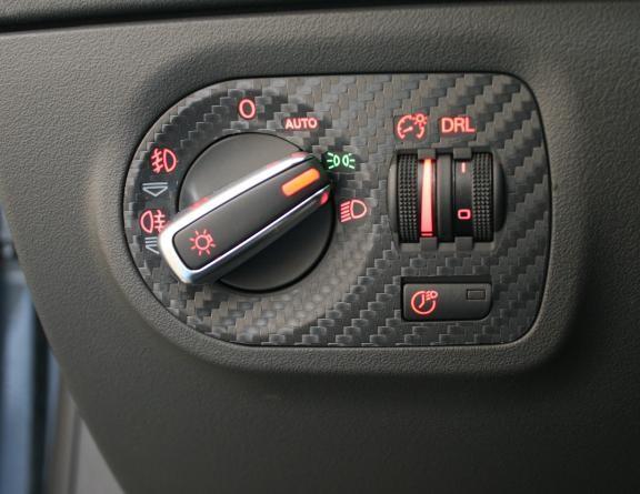 coating Carbonoptik light switch