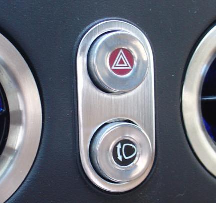 Blende um Schalter Warnblink./Klappscheinw.