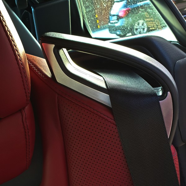 Decorative panels seat belt 4 pcs.