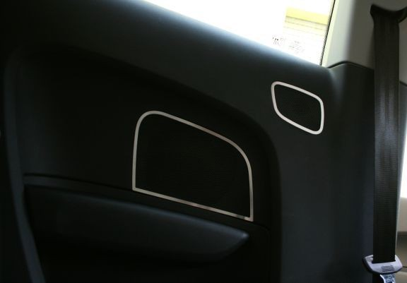 4x Aluframe Speaker Rear interieur in the tt