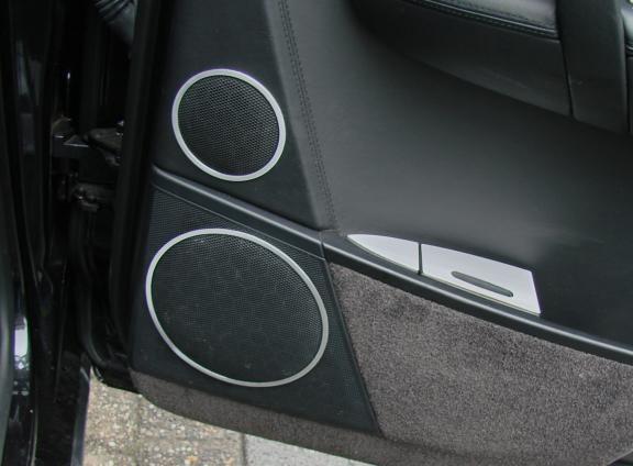4 Zierringe Lautsprecher hinten