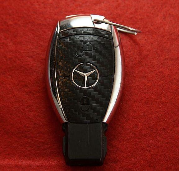 FB MB 005 Cabonoptik Mercedes 2 Button