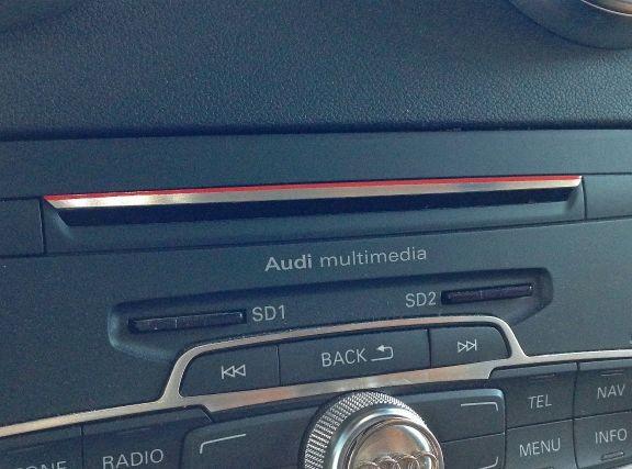 1 AluminiumLeiste CD Schacht rot S1 optik