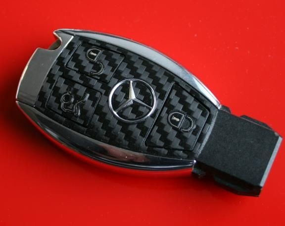 FB MB 006 Cabonoptik Mercedes 3 Button