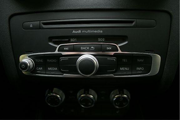 1 Aluminiumblende für Radiobedienung