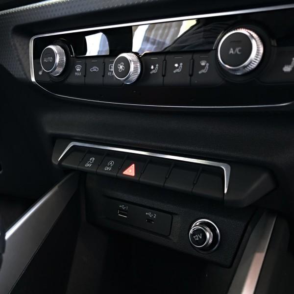 A119-008 Aluminium Zierrahmen Schalterleiste