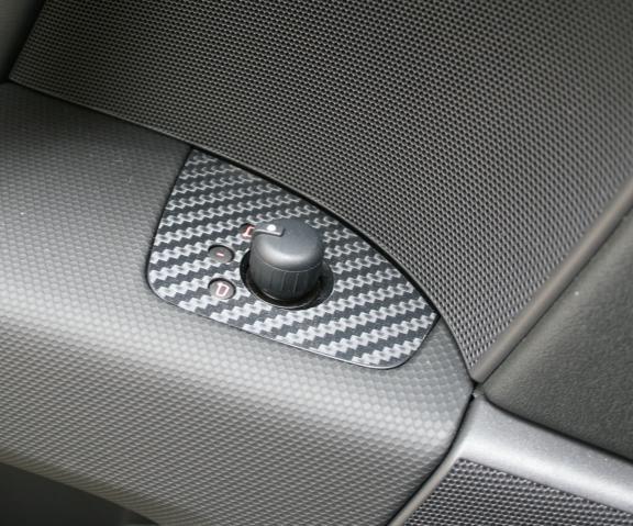 coating Carbonoptik mirror switch