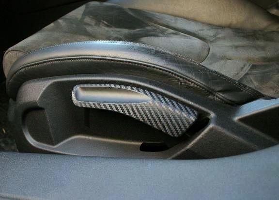 coating Carbonoptik seat high adjust