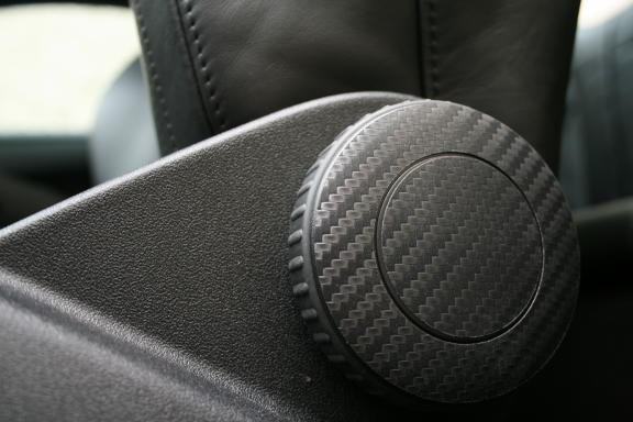 coating Carbonoptik seat adjust