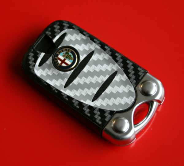 003 Cabonoptik Alfa Romeo silver-black