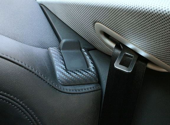 coating Carbonoptik bolting device rear seat
