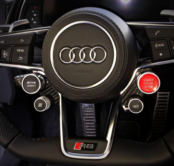 steering wheel 2 Edges Realcarbon