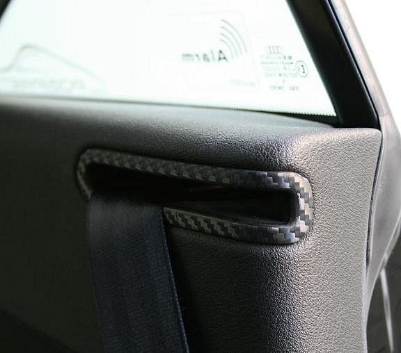 Carbondekor Safety belt Front