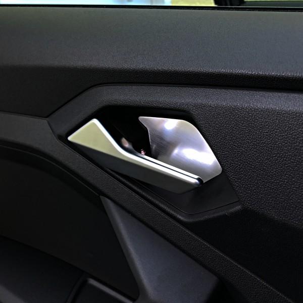 Alu Inlay door handle