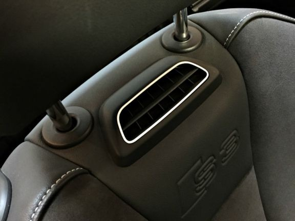 2 Aluminiumrahmen Nackenheizung Cabrio