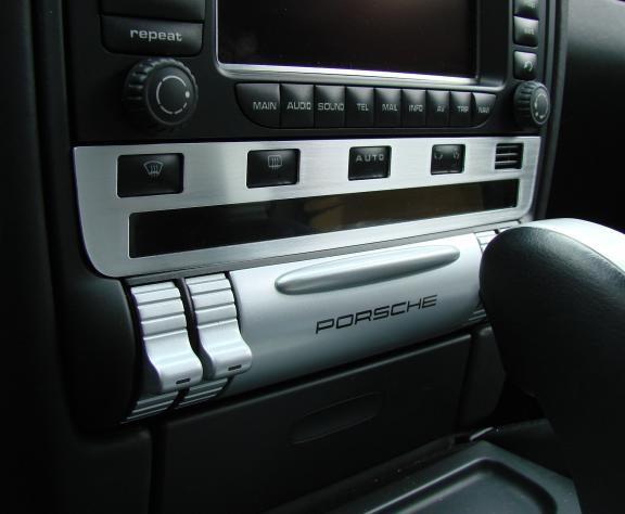 cover switch panel under radio