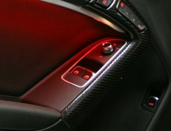 2 Frames windowbutton front Only Coupe