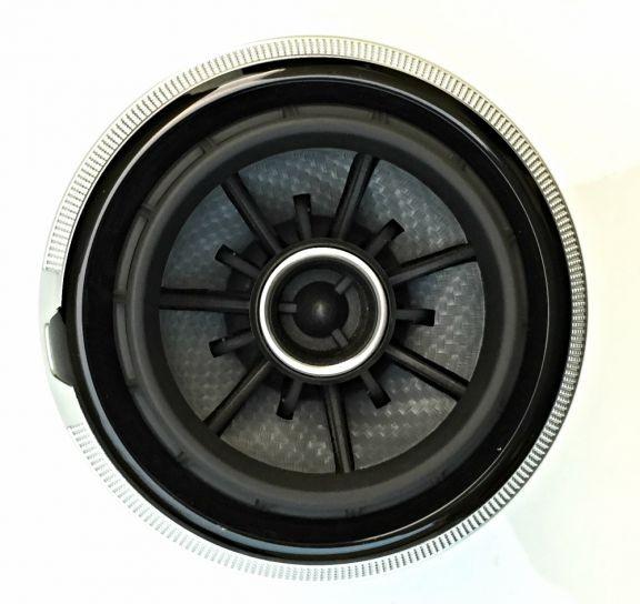 Beklebeset Carbon silber für die Lüfterdüsen in RS LOOK
