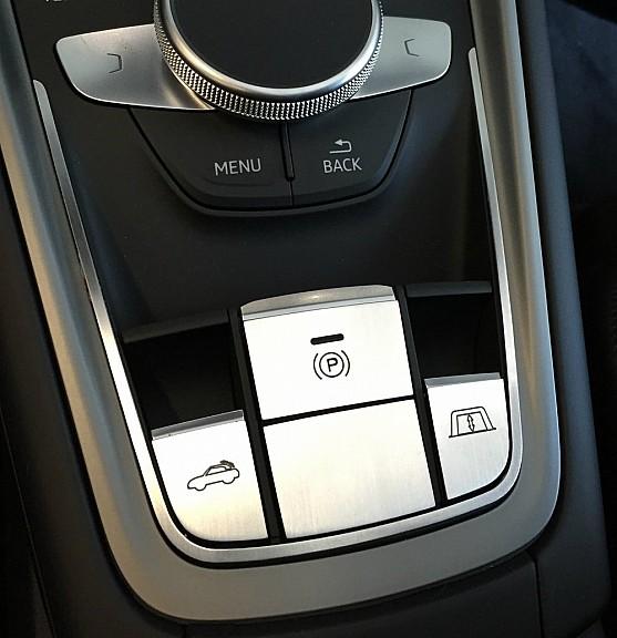 Trim set for the switch Cabrio